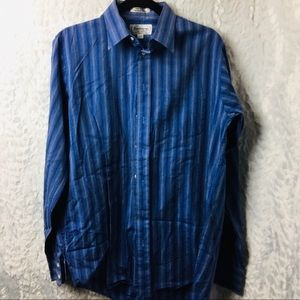 VTG Burberry's of London Shirt neck 16 Q1